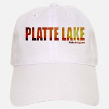 Platte Lake, Michigan Baseball Baseball Cap