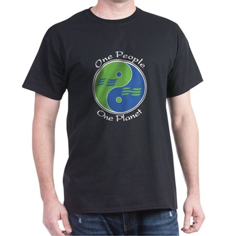 One People, One Planet Dark T-Shirt