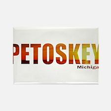 Petoskey, Michigan Rectangle Magnet