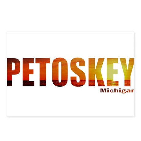 Petoskey, Michigan Postcards (Package of 8)