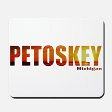Petoskey, Michigan Mousepad