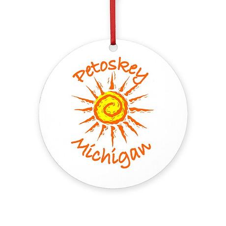 Petoskey, Michigan Ornament (Round)