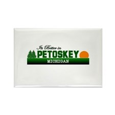 Its Better in Petoskey, Michi Rectangle Magnet