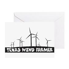 Texas Wind Farmer Greeting Card