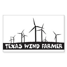 Texas Wind Farmer Decal