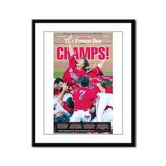 Champs! Framed Panel Print