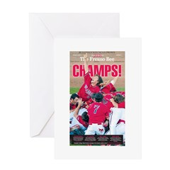 Champs! Greeting Card