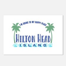 Hilton Head Happy Place - Postcards (Package of 8)