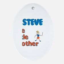 Steve - The Little Brother Oval Ornament
