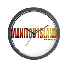 Manitou Island, Michigan Wall Clock