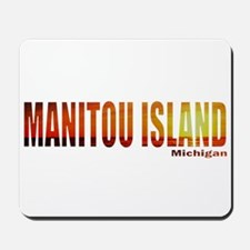 Manitou Island, Michigan Mousepad