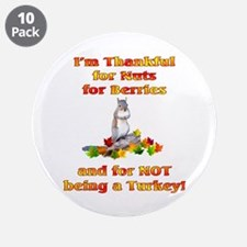 """Thankful 3.5"""" Button (10 pack)"""
