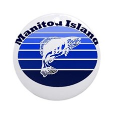 Manitou Island, Michigan Ornament (Round)