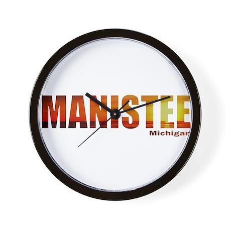 Manistee, Michigan Wall Clock