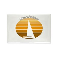 Manistee, Michigan Rectangle Magnet