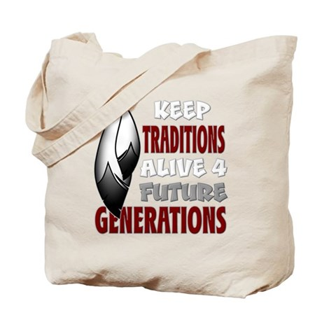Native Traditions Tote Bag