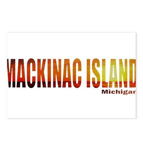 Mackinac Island, Michigan Postcards (Package of 8)