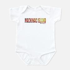 Mackinac Island, Michigan Infant Bodysuit