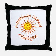 Mackinac Island, Michigan Throw Pillow
