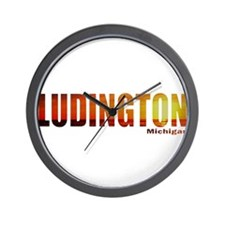 Ludington, Michigan Wall Clock