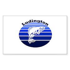 Ludington, Michigan Rectangle Decal