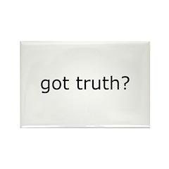 got truth? Rectangle Magnet (100 pack)