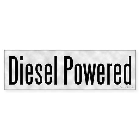 Diesel Powered (sticker)