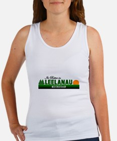 Its Better in Leelanau, Michi Women's Tank Top