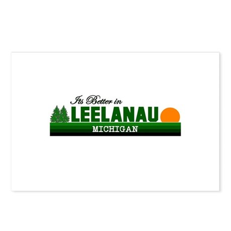Its Better in Leelanau, Michi Postcards (Package o