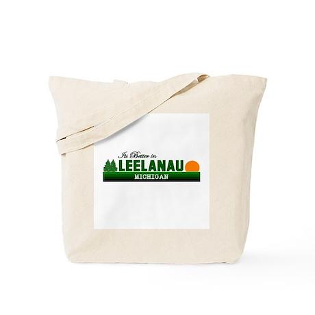 Its Better in Leelanau, Michi Tote Bag