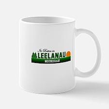 Its Better in Leelanau, Michi Mug