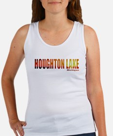 Houghton Lake, Michigan Women's Tank Top