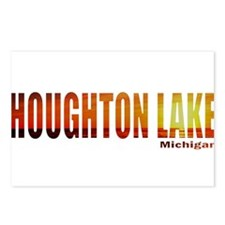 Houghton Lake, Michigan Postcards (Package of 8)