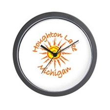 Houghton Lake, Michigan Wall Clock