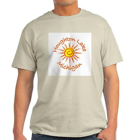 Houghton Lake, Michigan Light T-Shirt