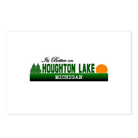 Its Better in Houghton Lake, Postcards (Package of