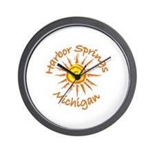 Harbor Springs, Michigan Wall Clock