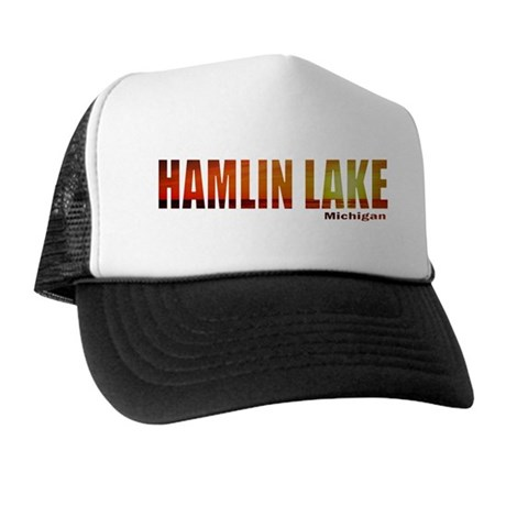 Hamlin Lake, Michigan Trucker Hat