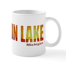 Hamlin Lake, Michigan Small Mug