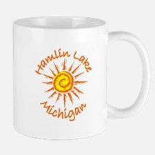 Hamlin Lake, Michigan Mug