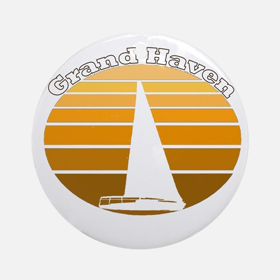 Grand Haven, Michigan Ornament (Round)