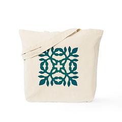 Green Papercut Tote Bag