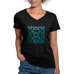 Green Papercut Shirt