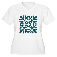 Green Papercut T-Shirt