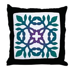 Colorful Papercut Throw Pillow