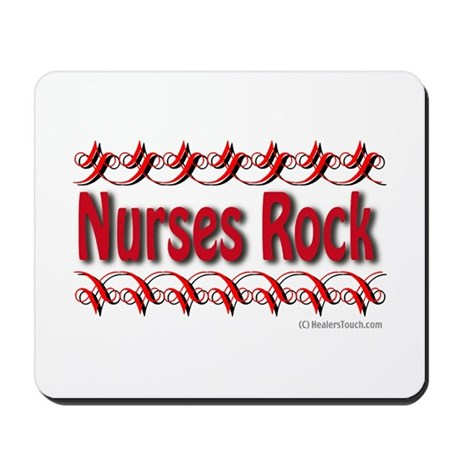 Nurses Rock Mousepad