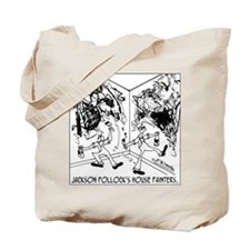 Jackson Pollock's House Painters Tote Bag