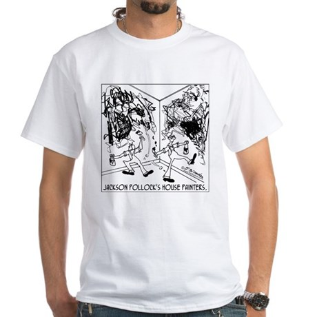 Jackson Pollock's House Painters White T-Shirt