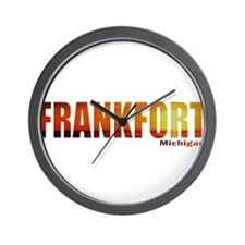 Frankfort, Michigan Wall Clock