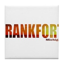 Frankfort, Michigan Tile Coaster